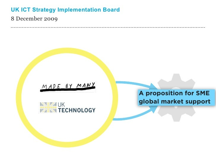 UK ICT Strategy Implementation Board 8 December 2009 ---------------------------------------------------------------------...
