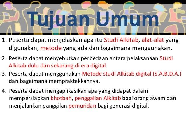 Studi Alkitab pada Era Digital: Metode dan Alat Slide 2