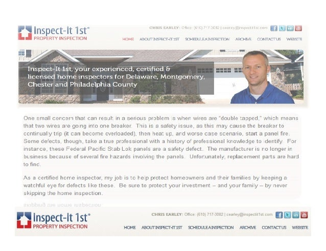 Common Defects Found During a Home Inspection Slide 2