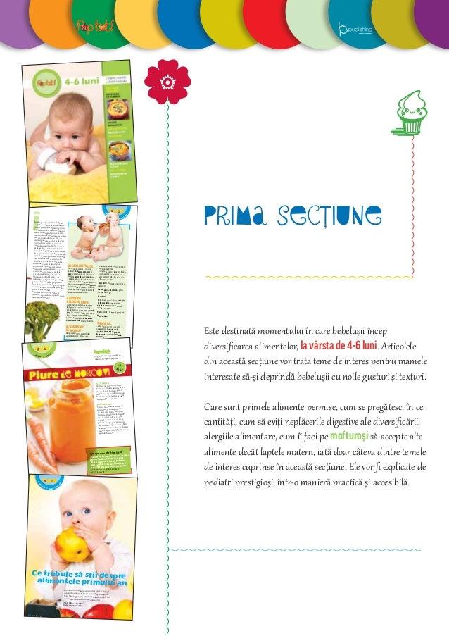 29decembrie 2012/ la m asă cu mami și t ati În preajma vârsei de 9 luni bebe are capacitatea motrice să prindă diverse obi...