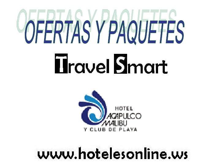 OFERTAS Y PAQUETES