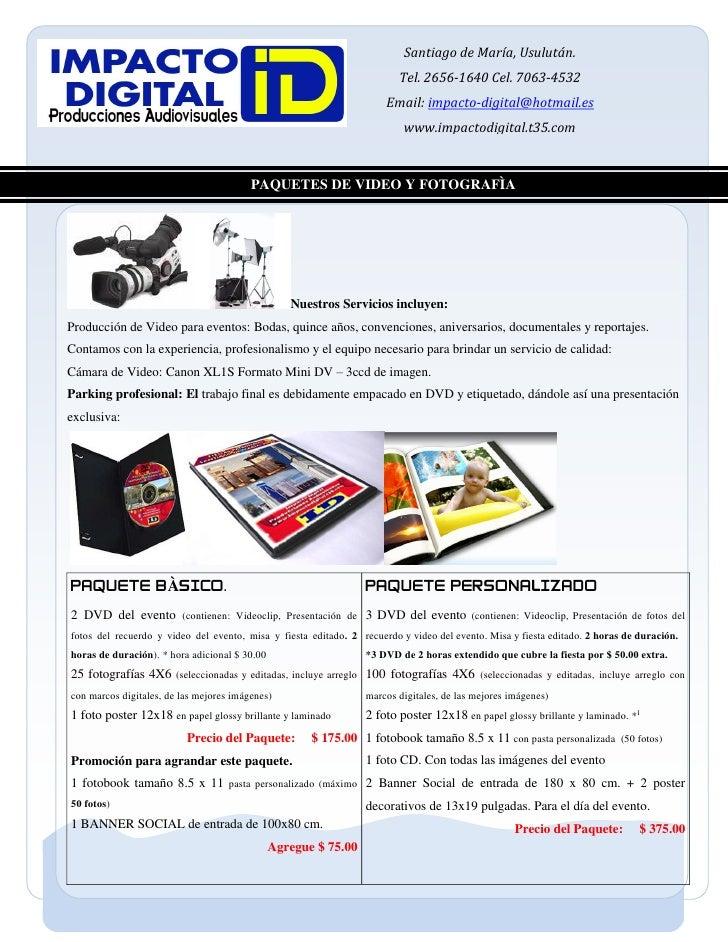 Paquete Personalizado 240710