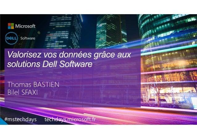 1 Confidential GlobalMarketing #mstechdays techdays.microsoft.fr