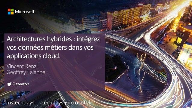#mstechdays techdays.microsoft.fr