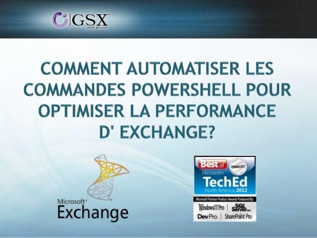 Jean-Francois PiotVP Product Management, GSX Solutions Cyril LEROYMicrosoft Specialist, GSX Solutions                   GS...