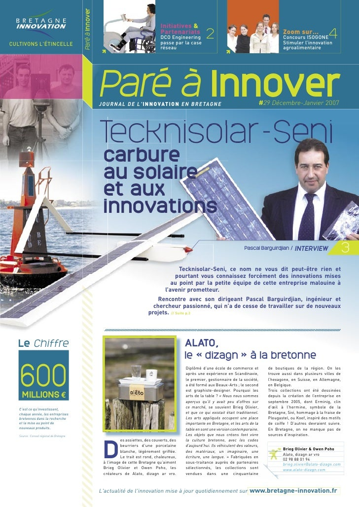Paré à Innover                                                                                            Initiatives &   ...