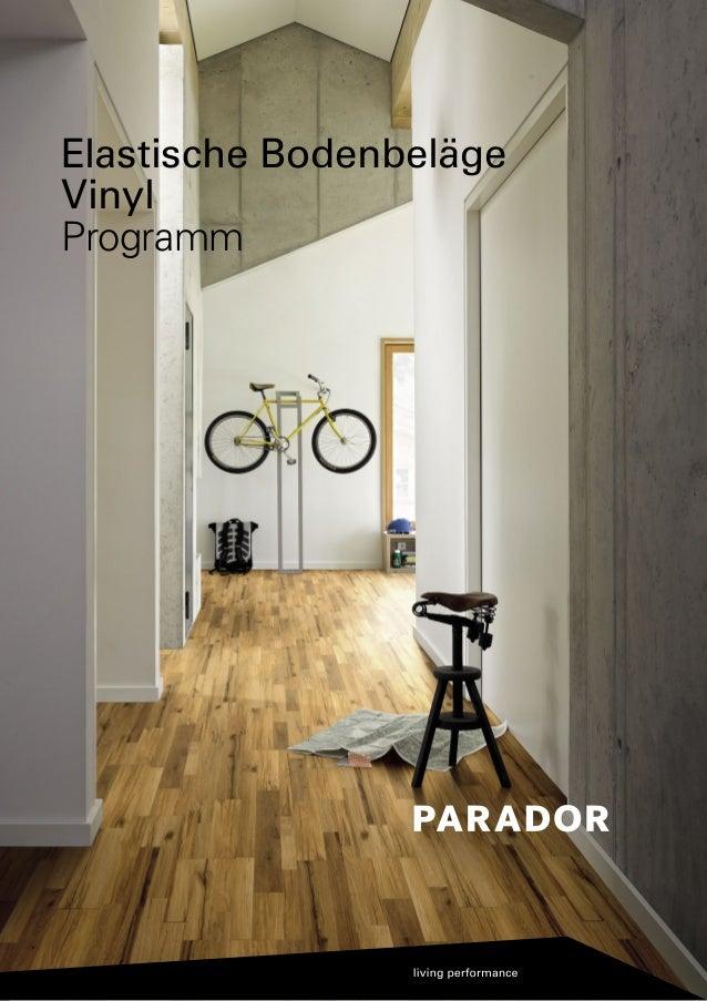 Elastische Bodenbeläge Vinyl Programm