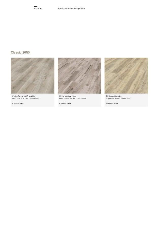 PARADOR Elastische Bodenbeläge - Vinylboden und Vinyllaminat