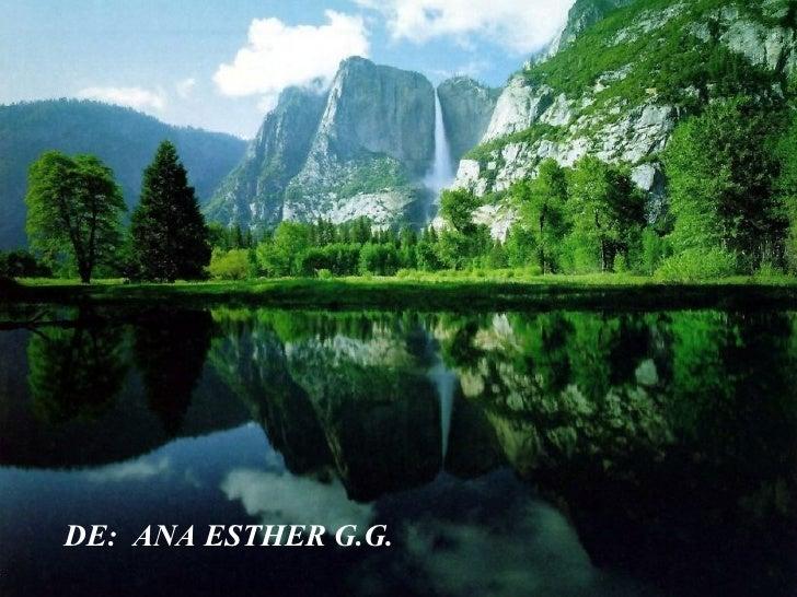 DE:  ANA ESTHER G.G.