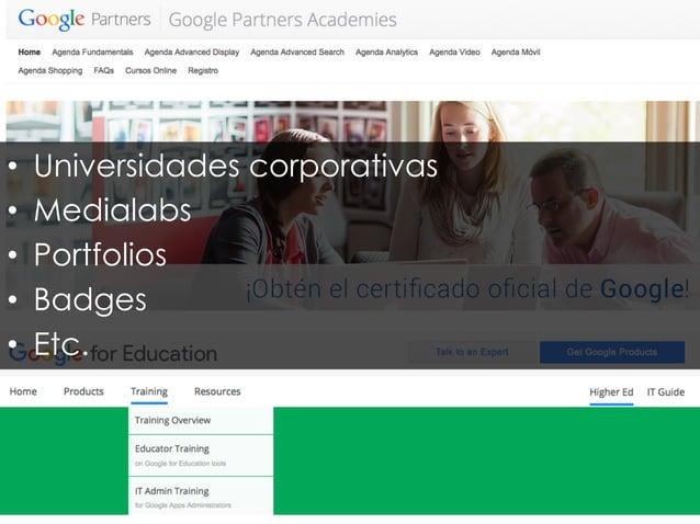2001: CONTENIDOS ABIERTOS Wikipedia - Web 2.0 - UGC – OER – OCW – CC 2008: CURSOS MASIVOS Redes Sociales – Vídeo – Mobile–...