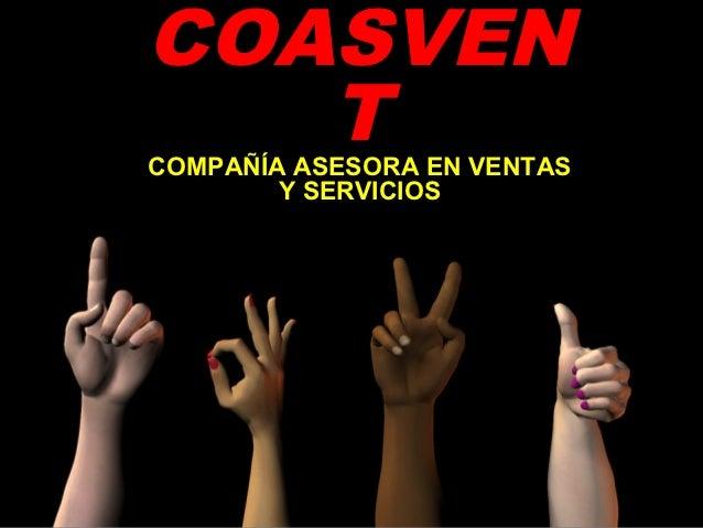 COASVEN   TCOMPAÑÍA ASESORA EN VENTAS        Y SERVICIOS