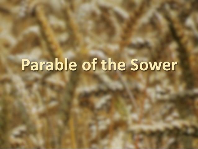 ParableoftheSower