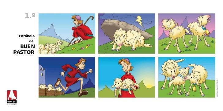 1.º                 Parábola                      del          BUEN        PASTOR                            Ilustraciones...