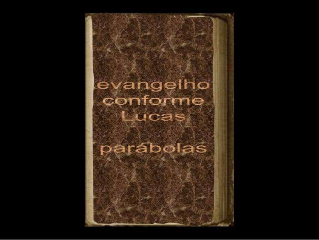 Perdidos Encontrados Samaritano Amigo Importuno Fariseu e o Publicano Viúva e o Juiz