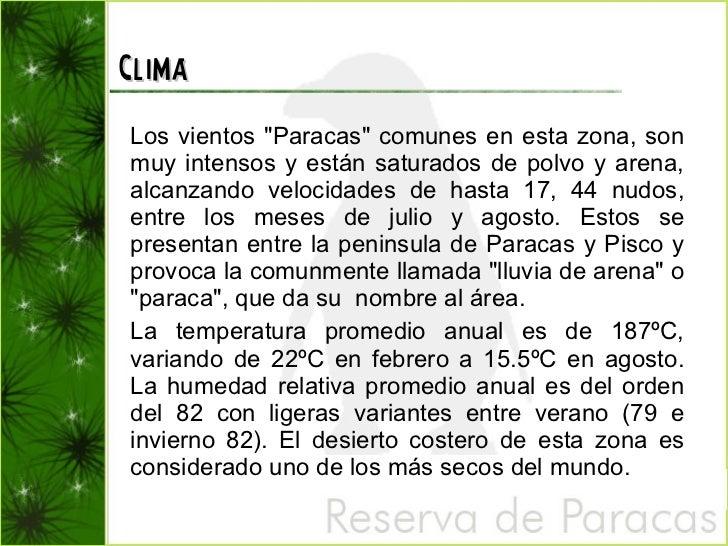 paraca chilena