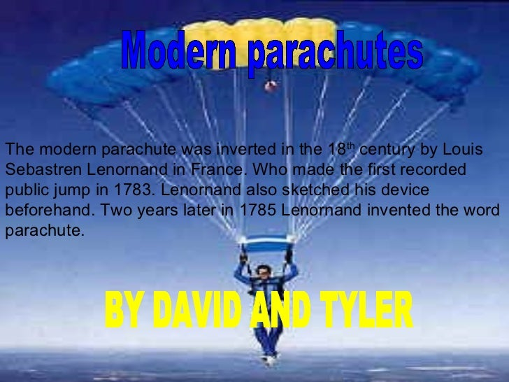 Parachute class research