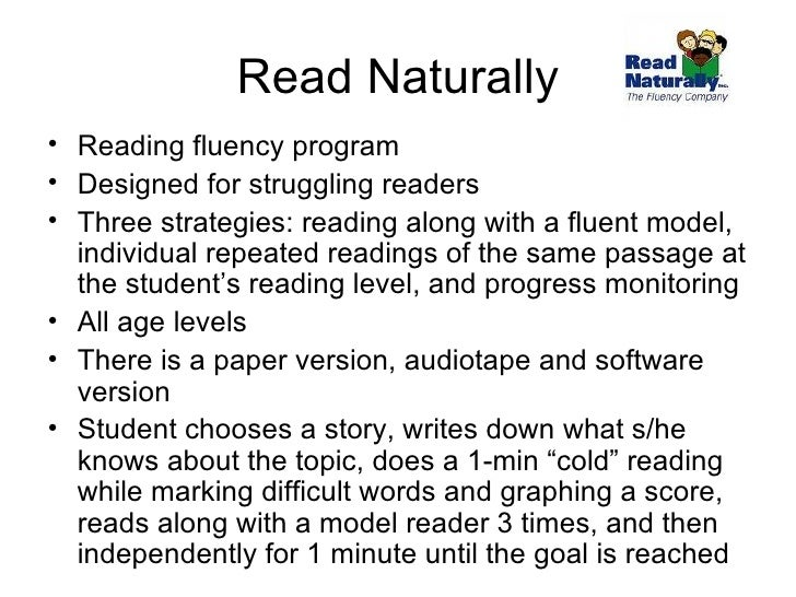 picture relating to Read Naturally Printable Stories named Literacy Schooling for College students with Developmental