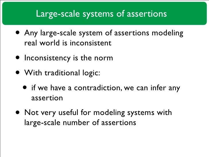 Paraconsistent Reasoning in Ontopedia Slide 2