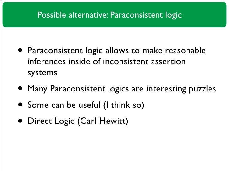 Paraconsistent Reasoning in Ontopedia Slide 3