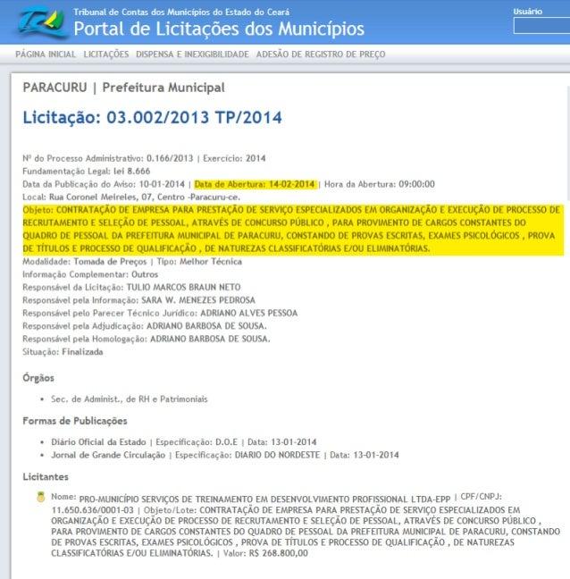 Publicação Oficial do Tribunal de Justiça do Estado do Ceará - Lei Federal nº 11.419/06, art. 4º 57Disponibilização: Segun...