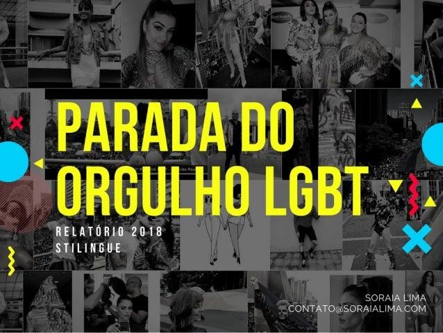 Parada LGBT 2018: mídias sociais e marcas