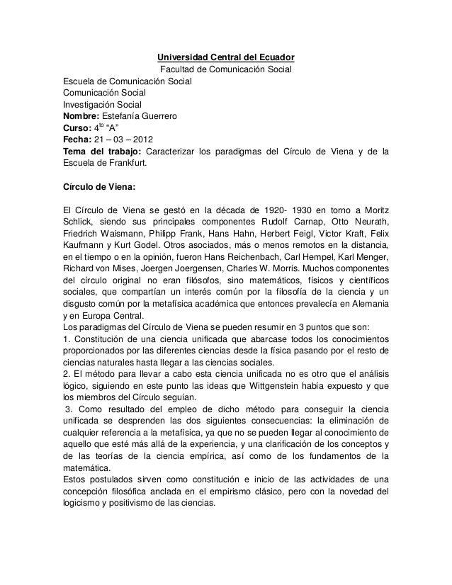 Universidad Central del EcuadorFacultad de Comunicación SocialEscuela de Comunicación SocialComunicación SocialInvestigaci...