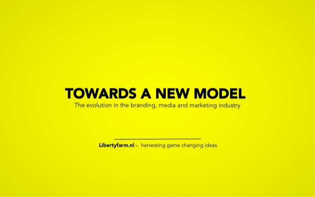 Model shift in media & marketing communications