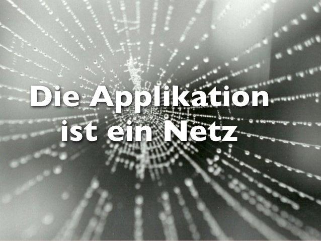 Die Applikation  ist ein Netz              Mayflower GmbH 2009