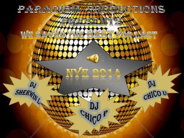 Paradigm productions presents