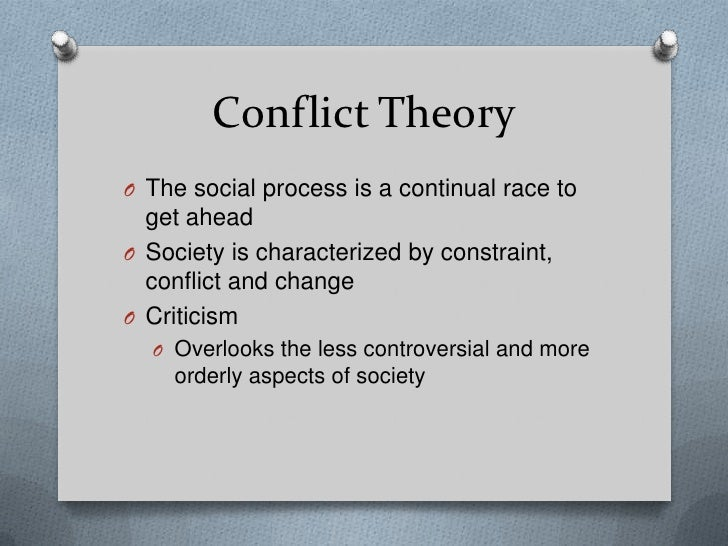 strengths of conflict theory
