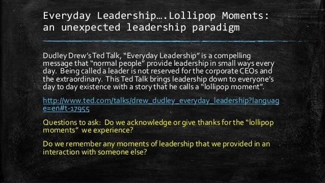 Paradigms Of Leadership