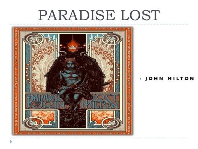 PARADISE LOST    JOHN  M I LTO N