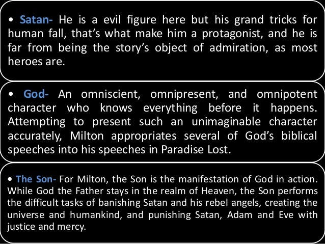 an analysis of satan as a sympathetic hero in paradise lost In 1667, paradise lost was published, and people were absolutely astounded, and perhaps even shocked, by john milton's portrayal of the devil (lucifer to his f.