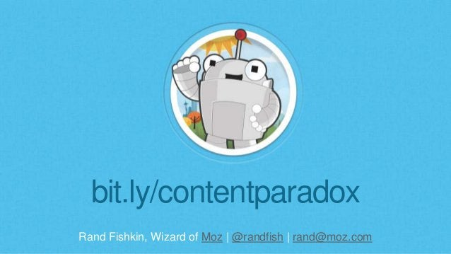 The Paradox of Great Content