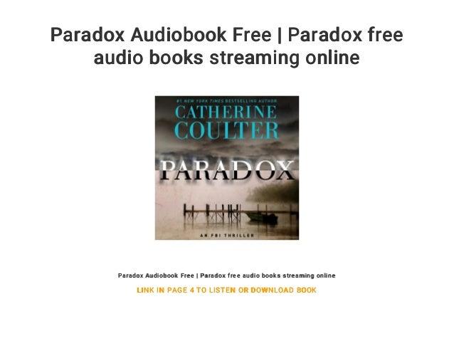 Paradox Audiobook Free | Paradox free audio books streaming