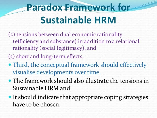 paradoxes in human resources Journal of economic perspectives-volume 21, number 4-fall 2007-pages 115-134 human resources from an organizational behavior perspective: some paradoxes explained.
