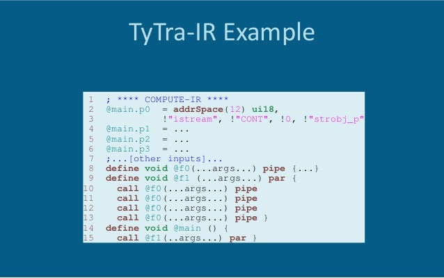 Full-‐Program  Transforma6on   •  Type  Transforma6ons  are  not  FPGA-‐specific   •  Compiler  can...
