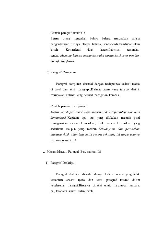 Paragraf Bahasa Indonesia