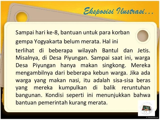 Paragraf Eksposisi Bahasa Indonesia Kelas X