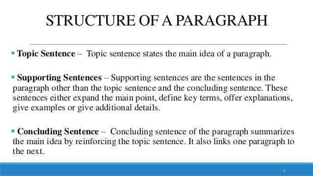 Paragraph & Essay