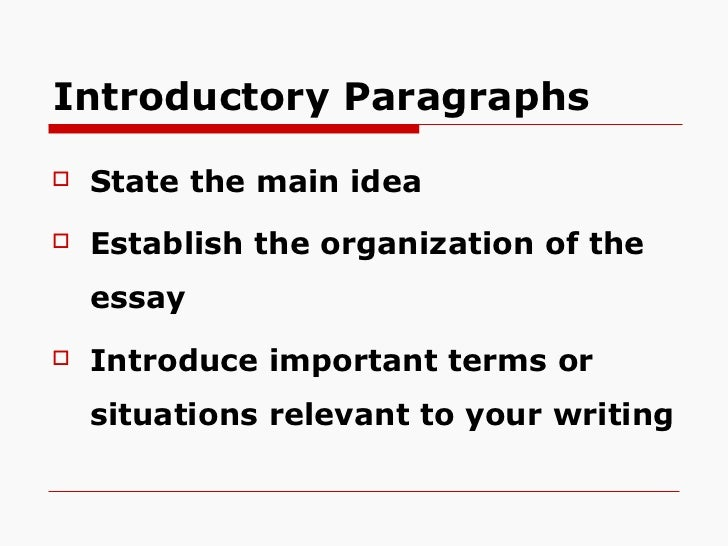 constructing an essay Explanation once you know what you want to talk about and you have written your thesis statement, you are ready to build the body of your essay the thesis statement will usually be followed by.