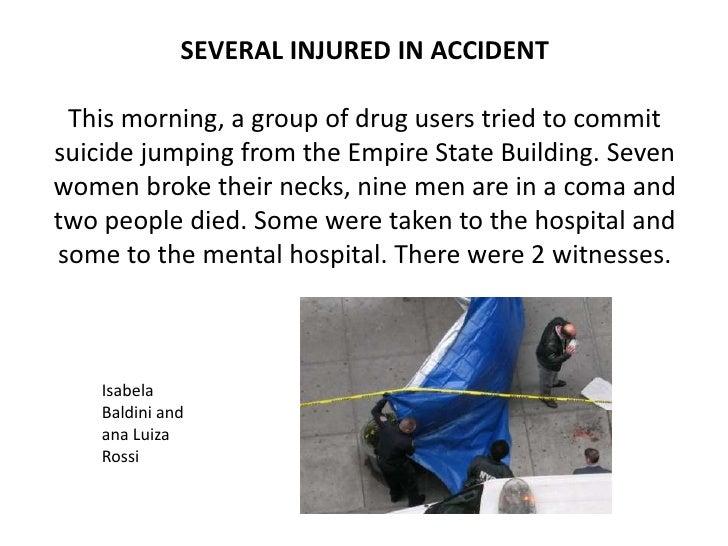Short Paragraph About Car Accident