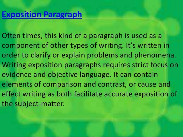 Building the Point of View in the Essay Body