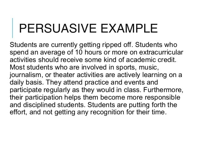 Paragraph types