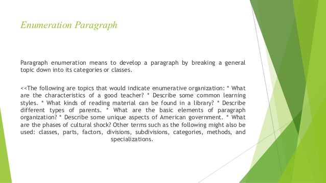 common methods of paragraph development Readthe following paragraph and then analyze the paragraph development microsoft word - paragraphs_methods of developing paragraphsdoc author: blove.