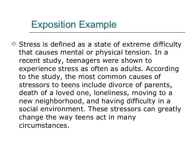 paragraph about stress