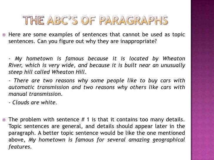 abc essay structure