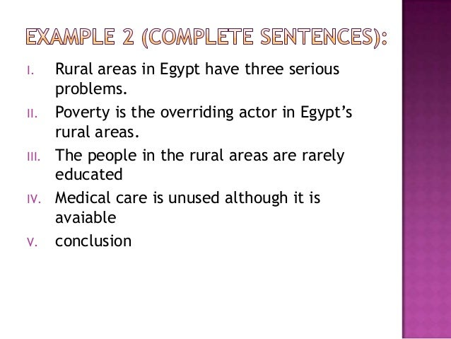 poverty and b conclusion sentence The conclusion should contain a definite,  here is a brief list of things that you might accomplish in your concluding paragraph(s.