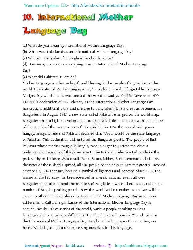 Mother tongue romanian essay writer