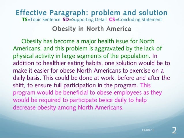 Obesity problems solutions essay